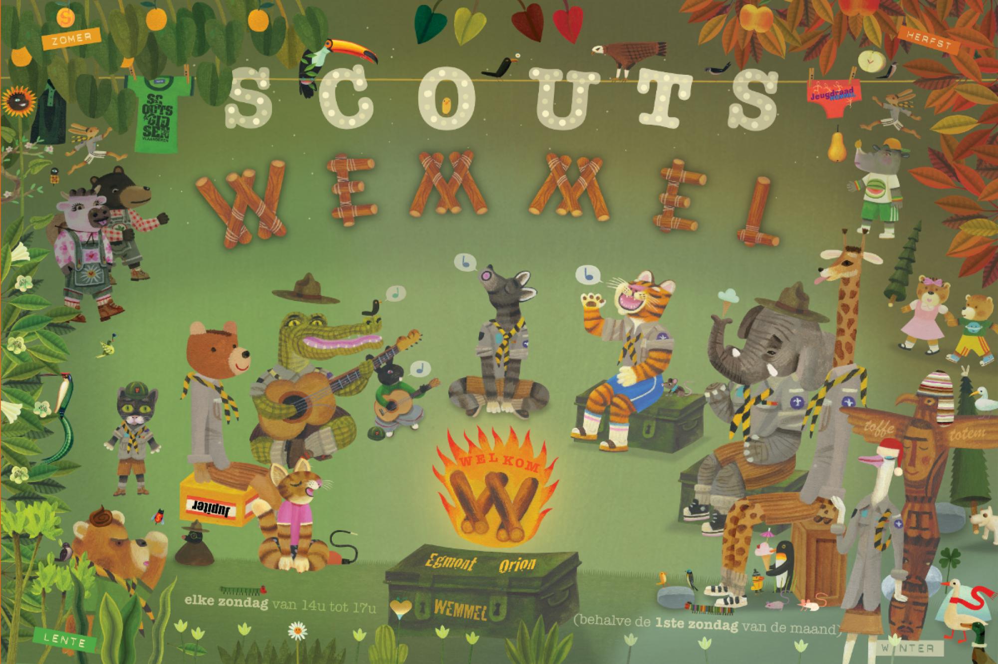 Scouts en Gidsen Wemmel